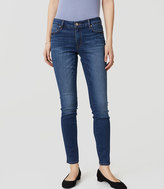 LOFT Curvy Skinny Jeans in Classic Mid Vintage Wash