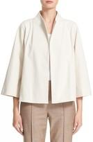 Lafayette 148 New York Women's Kirby Funnel Neck Jacket
