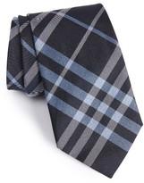 Burberry Men's Clinton Check Woven Silk Tie