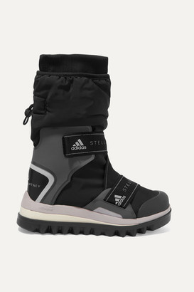 adidas by Stella McCartney Winterboot Rubber-trimmed Ski Boots - Black