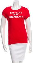 Kate Spade Graphic Print Short Sleeve T-Shirt
