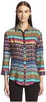 Tolani Women's Georgie Button Up Shirt