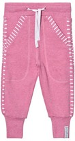 Geggamoja Pink Melange Long Pants