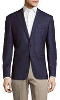 John Varvatos Textured Woolen Blazer