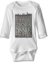 HLKDES Lord Of The Rings The Hobbit Poster Toddler Baby Onesies Outfits