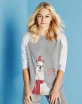 Noisy May Long Sleeve Printed Christmas Pajama Top