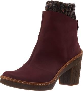 El Naturalista Women's N5177 Pleasant Black/Haya Ankle Boot 6.5 UK