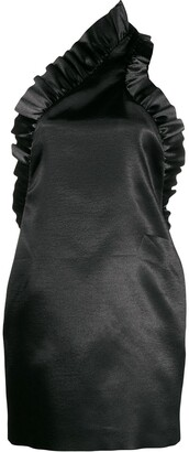 Philosophy di Lorenzo Serafini Ruffled Details Mini Dress