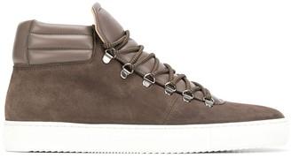 Zespà stitching detail sneakers