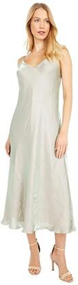 Vince Iridescent Cami Dress (Glass) Women's Clothing