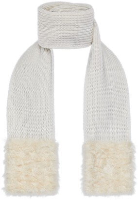 Moncler Cny Wool & Cashmere Scarf
