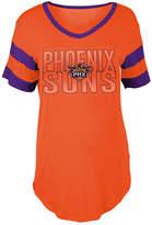 5th & Ocean Women's Phoenix Suns Hang Time Glitter T-Shirt