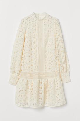 H&M Lace Dress - White