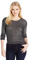 Pendleton Women's Petite Soho Stripe Pullover Sweater