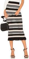 Ronny Kobo Marta Pico Stripe Skirt