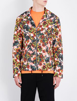 McQ Floral-print shell jacket