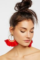 Free People Full Bloom Fan Earring