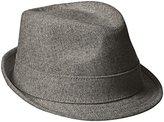 New Era Cap Men's Ek Gray Wool Fedora Hat