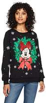 Disney Women's Light up Minnie Christmas Sweater