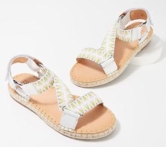 frye & co. Adjustable Asymmetrical Sandals - Kole