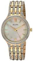 Bulova Slim Crystals - 98L234 Watches