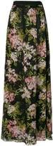 Giambattista Valli long floral skirt