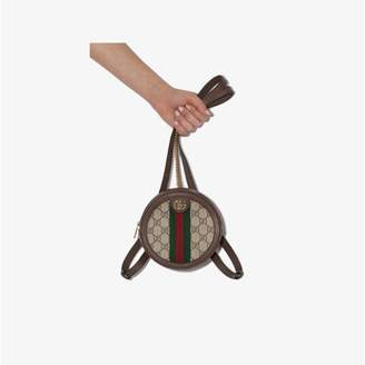 Gucci brown Ophidia GG mini backpack