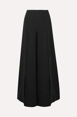 Marika Vera Angela Crepe Wide-leg Pants - Black