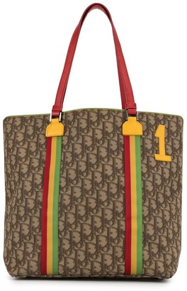 Christian Dior Pre-Owned Trotter Rasta tote