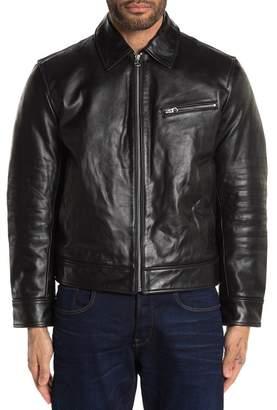 Rag & Bone Leather Garage Jacket