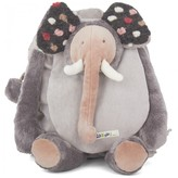 Moulin Roty Gray Elephant Backpack