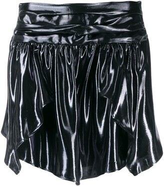 Isabel Marant Metallic Mini Skirt