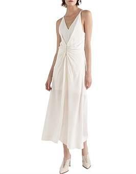 Dion Lee Cinched Plisse Dress