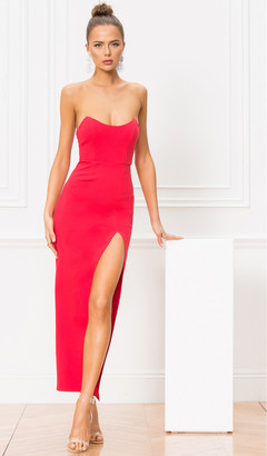 superdown Ryleigh Strapless Maxi Dress