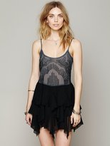 Free People Wisp & Glitz Slip