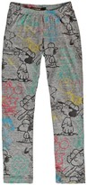 Finger In The Nose Lou Snoopy Leggings