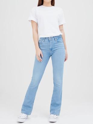 Levi's 725 High Rise Bootcut Jeans - Blue