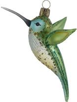 Oberfraenkische Glas Green Hummingbird Ornament