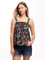 Old Navy Smocked Swing Tank for Women