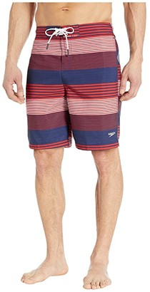 Speedo Borderline Boardshorts 20 (Red/White/Blue) Men's Swimwear