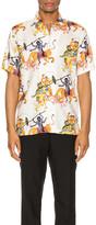 Endless Joy Kali Aloha Shirt in Bone Multi | FWRD