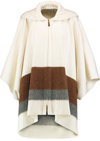 Agnona Wool And Cashmere-Blend Poncho