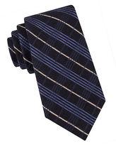 Black Brown 1826 Multi Stripe Tie