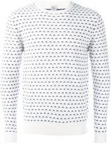 Eleventy micro intarsia jumper