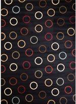 S.O.H.O New York Circles Rug in Black