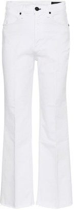 Rag & Bone Justine cropped wide-leg jeans