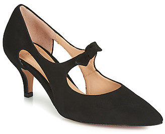 Perlato 11339-CAM-NOIR women's Heels in Black