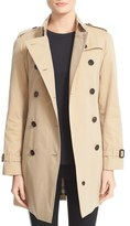 Burberry 'Westminster' Double Breasted Trench Coat