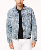 True Religion Men's Deconstructed Denim Jacket