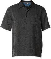 Quiksilver Waterman Collection Men's Aganoa Bay 3 Jacquard Shirt